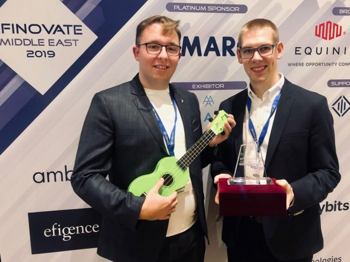 Best of Show at the Finovate Middle East for Efigence