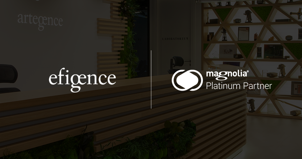 Artegence and Efigence boost clients' digital environment with Magnolia CMS on a platinum level